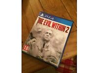 The Evil Within 2 for the PS4 PlayStation 4