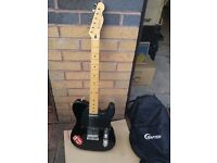 Fender Squier Telecaster - Made in Japan - 1994/95 Electric Guitar - Black