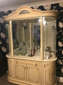 Italian rosette cabinet for quick sale