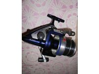 shimano aerlex xs 8000 upgraded to biomaster, new in box,spare spool included