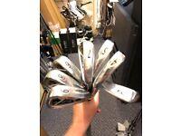 Wilson 4-PW (7 irons) stiff shaft irons