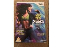 Zumba fitness 2 for Nintendo Wii