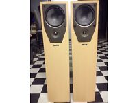 FLOORSTANDING SPEAKER MISSION M 73 IN PERFECT WORKING CONDITION.
