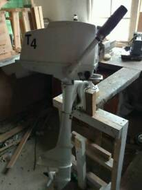 4 hp outboard engine