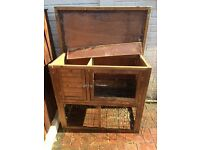 Guinea pig / rabbit hutch and accessories