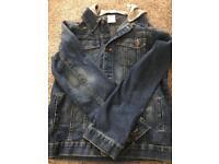 Boys denim jacket (age11-12)