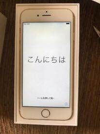 iPhone 6S Gold 64gb unlocked.