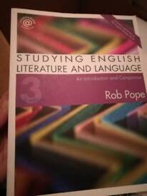 English literacy and language