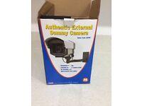 Dummy cctv camera with bracket. Still in box
