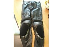 Arlen Ness motorcycle leathers, good condition, just a couple of small scuffs
