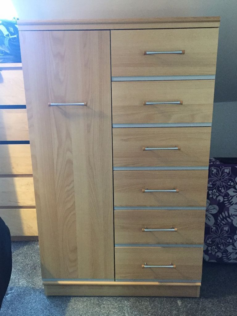 Alstons furniture wardrobe with drawers in paisley