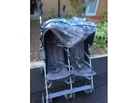 double pushchair / twin stroller