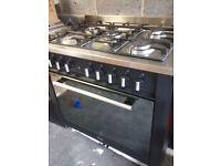 indesit range 5 burner range cooker