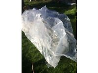 Large piece plastic ideal to make cloches