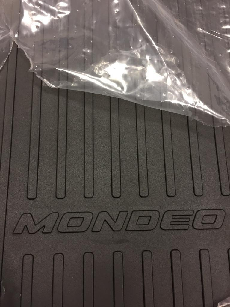 Rubber mats glasgow - Brand New Ford Mondeo Rubber Mats
