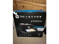 HP 7640 Envy e-All-in-One Printer, Instant Ink Compatible
