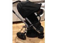 Quinny buzz 3 pram rocking black with accessories