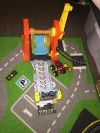 Blaze and the monster machine playset including blaze car NEW