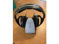 Sennheiser RS130 wireless surround sound headphones