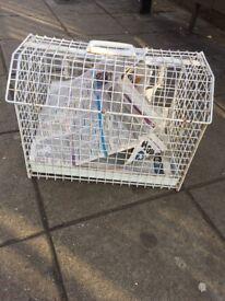 Animal travel basket