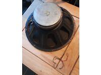 5 vintage speaker drivers