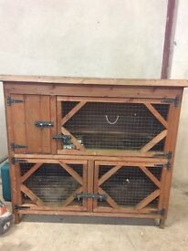 Rabbit hutch for sale.
