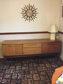 1960'S ANTIQUE SOLID WOOD SIDEBOARD FOR SALE!!!!