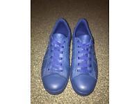 Genuine Blue Armani trainers