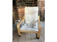 Perfect Condition POANG Ikea Children's Armchair