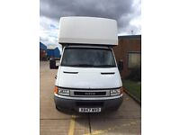 Iveco Daily Dropwell Luton for sale. Great little earner!!!!