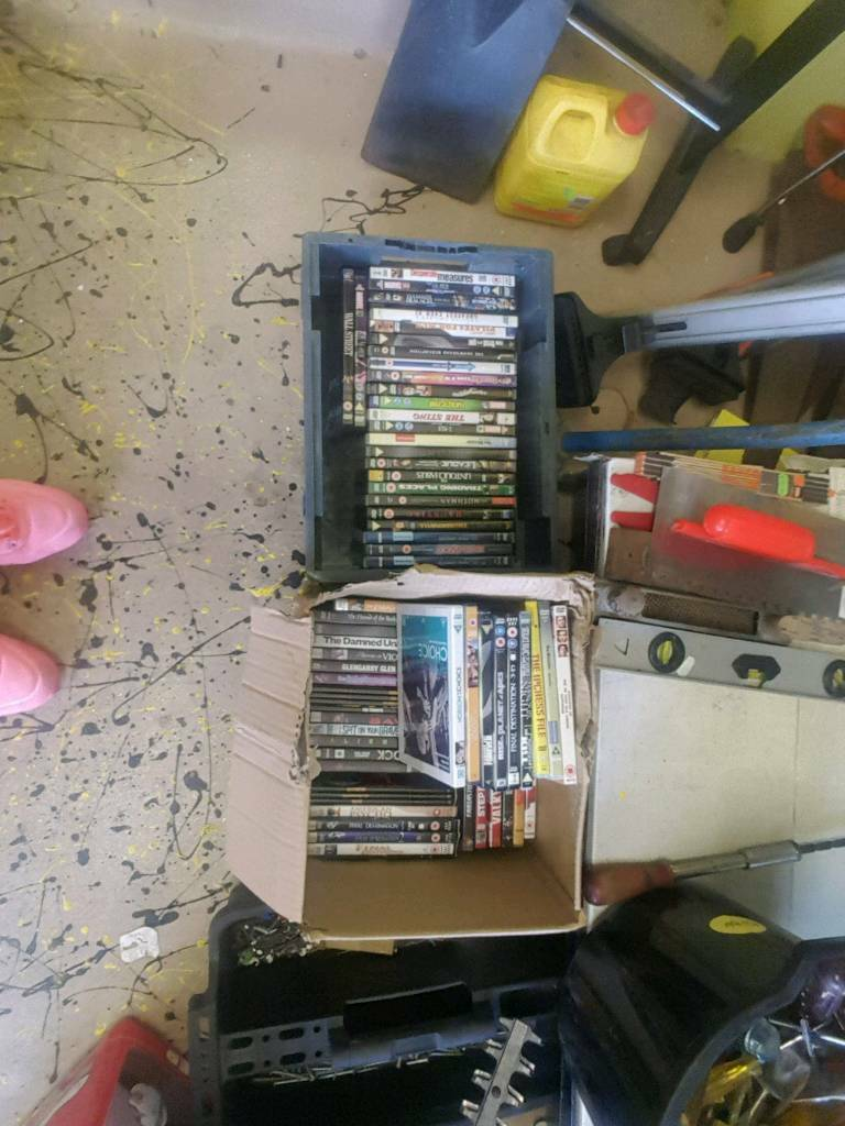 Huge dvd joblot x 75 lots of new and unused dvds