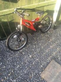 Boys trax tfs20 bike