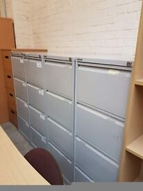 Metal 4 Drawer Filing cabinets many available £25 each