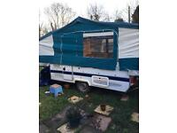 Trigano 575 trailer tent excellent condition 1999 garaged from new with cassette toilet