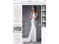 Size 14 Demi Wed2be Wedding Dress