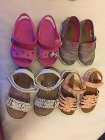 Girls size 6 shoe bundle