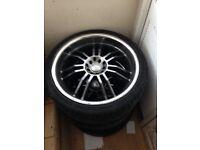 """19"""" wolfrace alloy wheel"""