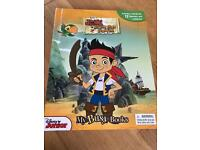 Jake Neverland Pirates book with playmat and characters