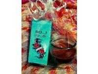 perfume & candle gift
