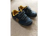 Clarks boys (toddler) shoes size 4 1/2 F in excellent condition