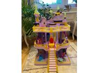 Free local delivery Canterlot Castle My Little Pony with tree Pony