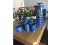 Carlton ware coffee set