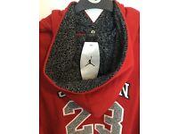 JORDAN red basketball Hoodie- brand new & unused