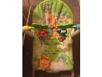 Fisher Price Rainforest Infant-to-Toddler Rocker