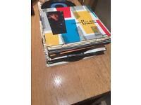 """Varied 7"""" vinyl"""