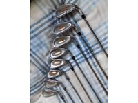 Wilson Matrix Golf Club Set. 3 Woods & 8 Irons- PRICE REDUCED