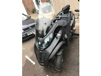 PIAGGIO MP3 500 LT SPORT, CAN BE DRIVEN ON A CAR LICENCE
