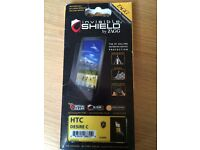 10 x Zagg Invisible SHIELD for HTC Desire C Screen Protector