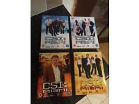 CSI MIAMI - Complete Sets Of Series 1 & 2 (48 Episodes)