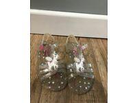 Debenhams unicorn girls flip flops